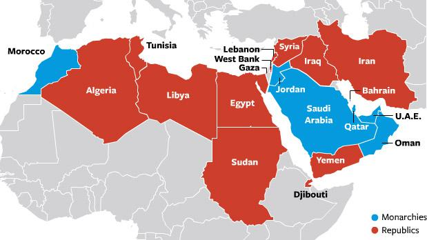 The Greater Middle East in the face of earnest geopolitical changes ...