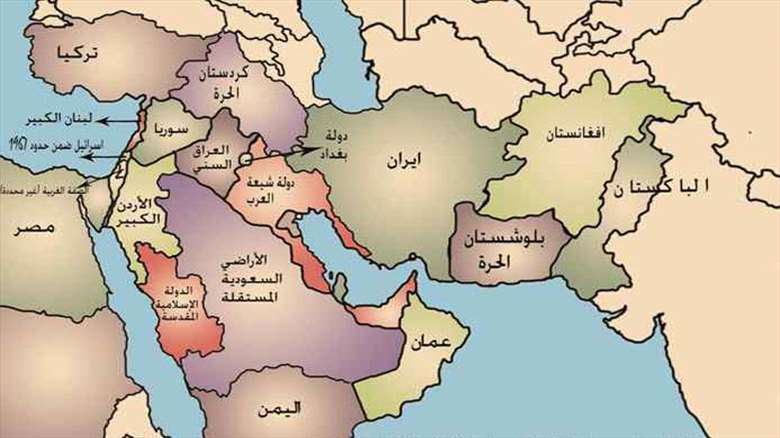 Redrawing The Middle East Borders Conspirology Or Real Plan War